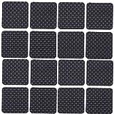 16 Stück 40mm Quadratisch Möbel Pads, WCIC Möbel Greifer EVA Anti Rutsch Matte schützen für Boden Harte Oberflächen vor Kratzern