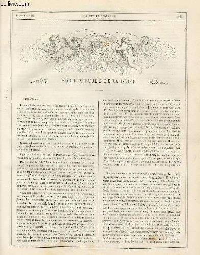 LA VIE PARISIENNE 4e année - N° 41 - SUR LES BORDS DE LA LOIRE, GUSTAVE Z. - DICTIONNAIRE DE LA MUSIQUE APPLIQUEE A L'AMOUR, ALB. DE LAS. - SOUVENIRS DE BIARRITZ - NOS BONS VILLAGEOIS, B.