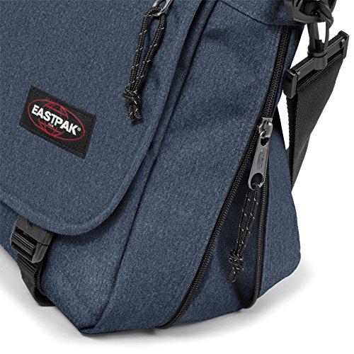 Eastpak Delegate, Borsa A Tracolla Unisex, Blu (Double Denim), 20 liters, Taglia Unica (38 centimeters)