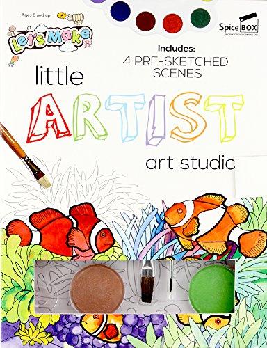 SpiceBox sp23376Lets Make ES Little Artist Art Studio Craft Kit Preisvergleich