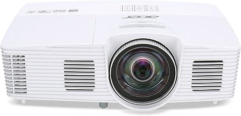 Acer H6517ST Kurzdistanz DLP Projektor (Full HD 1920 x 1080 Pixel, 3000 ANSi Lumen, Kontrast 10.000:1, 3D)