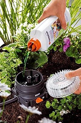 Gardena 1355-20 Basisgerät 1000 für Micro Drip System; Quick & Easy-Verbindungstechnik; Sieb Filter; Reduziert Wasserdruck auf etwa 1,5 bar (Wasserabgabe bis 1000L)