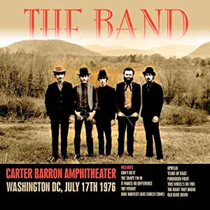 Carter Barron Amphitheater, Washington DC, July 17th 1976