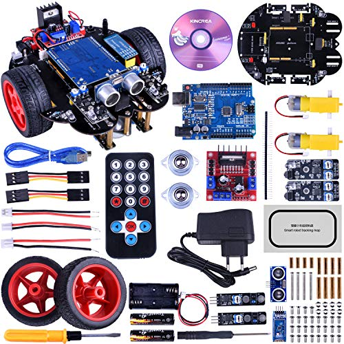 KINCREA Smart Robot Car Kit for Arduino R3 with Line