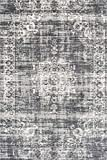 LIFA LIVING® Tappeti Vintage | Tappeto per Salotto e Camera da Letto | Disponibile in Diversi Colori e Misure (Grigio Scuro, 160_x_230_cm)
