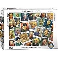 Eurographics 6000–5308Van Gogh Selfies puzzle da pezzi
