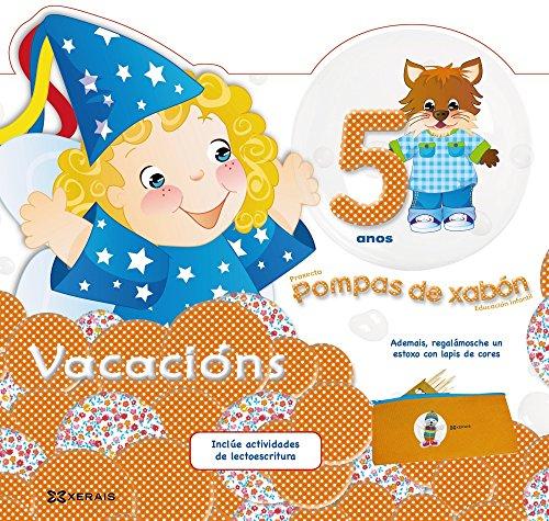 Pompas de xabón. Caderno de vacacións 5 anos - 9788499148519