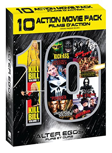 Alter Egos (Kill Bill: Volume 1 & 2 / Kick-Ass / A History of Violence / The Punisher / Universal Soldier: Day of Reckoning / Sin City / Hobo With A Shotgun / The Crow / Defendor)