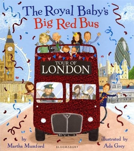 The Royal Baby's Big Red Bus Tour of London par Martha Mumford