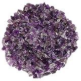 Amethyst 250 Gramm mini Edelsteine Trommelsteine Lade Steine Größe ca. 4 - 8 mm schöne lila Farbe.(3981)