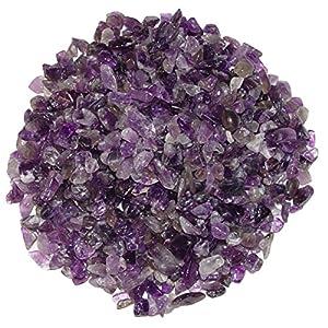 Amethyst 250 Gramm mini Edelsteine Trommelsteine Lade Steine Größe ca. 4 – 8 mm schöne lila Farbe.(3981)