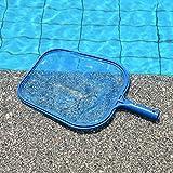 UxradG Pool Skimmer, Professional Heavy Duty Reiniger Werkzeug Schwimmbad Whirlpool Teich Oberfläche Net, Leaf Skimmer Leaf Reinigung Net Kit Blau