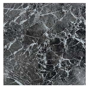 Zizzi lot de 4 carreaux de vinyle autocollant pour sol effet marbre 30 5 x 30 - Sol vinyle autocollant ...
