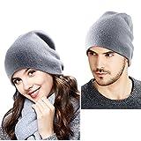 YOUNGDO - Bonnet tricoté - Taille Unique - Bonnet Hiver Chapeau tricoté Beanie Hats - chaud et doux - Adulte unisexe - Convient pour Hommes & Femmes