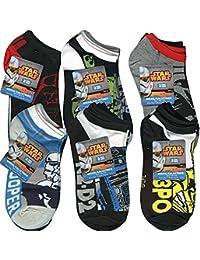 Star Wars Anklet Socks [3 Pack - Size 6-8] - Assorted