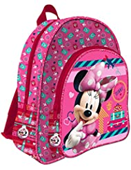 MINNIE - Grand cartable 2 zips adaptable trolley 41 cm Minnie Disney Voyage