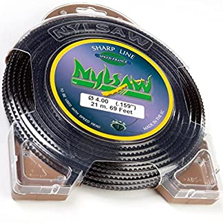 Hilo Nylon nylsaw 4mm x 21m dentados Blister hilo desbrozadora