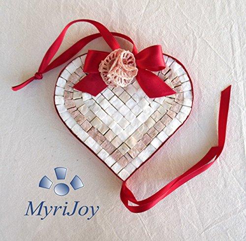 idea-regalo-original-corazon-rojo-mosaico-diy-kit-15x15-cm-baldosas-de-marmol-de-marmol-de-color-sel