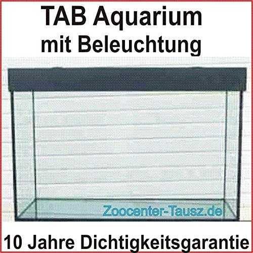 TAB Würfel Aquarium + Beleuchtung 70x70x70 cm / 343 L. / Glas 12mm / Bel. 2x24 Watt