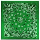 Alex Flittner Designs Bandana mit exclusivem Paisley Muster in grün