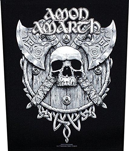 Amon Amarth Toppa da schiena con logo degli Skull & Axes