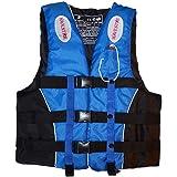 DALADA Zwemvest voor volwassenen, reddingsvest met fluitje, draagbaar drijfhulp, zwemvest voor dames, heren en kinderen, voor