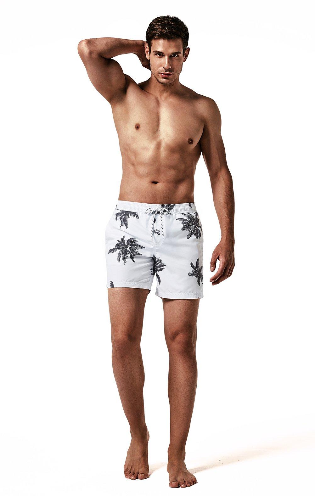 MaaMgic Uomo Costume da Bagno Nuoto Calzoncini Asciugatura Veloce per Spiaggia Mare Piscina 9 spesavip