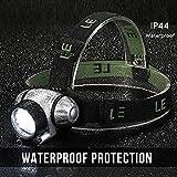 Lighting EVER 3200001 LED Headlamp Adjustable Headband Angles Bild 3