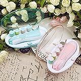 LXY Baby Nagelknipser, Baby Nagelknipser Set, Hochwertige Elektrische Nagelschneider Für Babys und Erwachsene, Nagelpflege Set,Blue