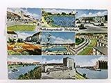 Mehrbild-AK Volkswagenstadt Wolfsburg; 9 versch. Ansichten; gelaufen 1960