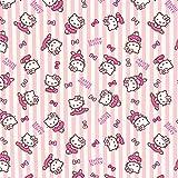 Fabulous Fabrics Baumwollstoff Hello Kitty Ballett – rosa