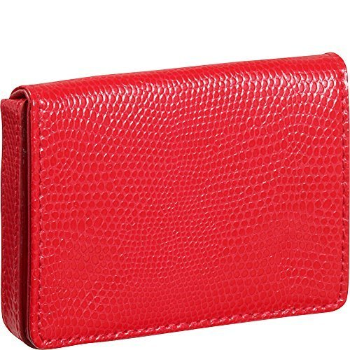 budd-leather-company-lizard-printed-leather-business-card-case-red-552282l-9-by-budd-leather-company