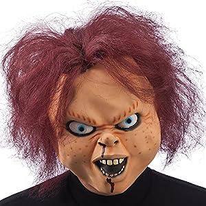 Carnival Toys 01415 - Máscara para adultos - muñeca del horror