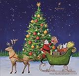 Florapharm, Tee-Advent-Kalender, Weihnachtsmann mit Geschenken