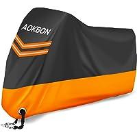 AOKBON Telo Coprimoto Impermeabile Universale Telo per Moto Anti-UV Resistente ad Foglie Polvere Vento Pioggia con 1…