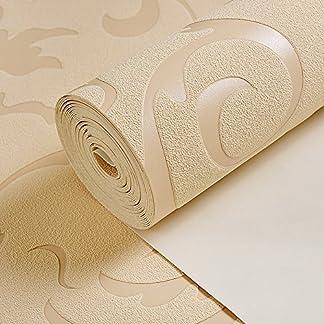yanchen TV fondo pared _ rural papel pintado no tejido cálido dormitorio salón televisión matrimonio romántico flores, 9606–4, longitud 10m * 0,53m = 5.44amplia cuadrado