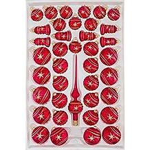 Christbaumkugeln Eislack Rot.Suchergebnis Auf Amazon De Für Weihnachtskugeln Glas Rot