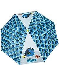 Disney 50766 Findet Dory Kinder Taschenschirm Regenschirm für Schulranzen und Rucksäcke (Aufdruck Englisch)