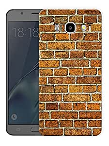 "Humor Gang Brick Wall Pattern Printed Designer Mobile Back Cover For ""Samsung Galaxy J5 2016 Edition"" (3D, Matte Finish, Premium Quality, Protective Snap On Slim Hard Phone Case, Multi Color)"