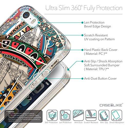 CASEiLIKE Citation 2429 Housse Étui UltraSlim Bumper et Back for Apple iPhone SE +Protecteur d'écran+Stylets rétractables (couleur aléatoire) 2055