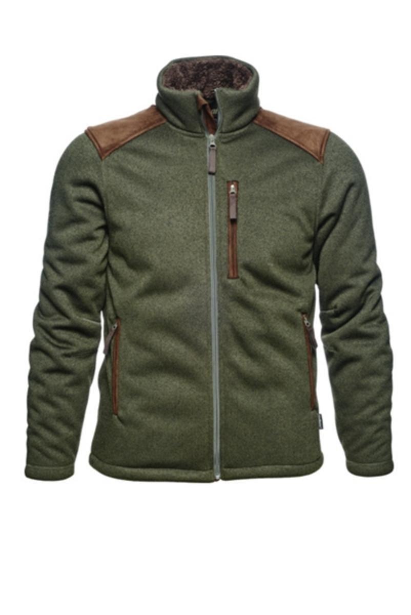 096430deb6a Seeland Dyna knit fleece Forest green