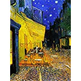 "Café Terrace By Van Gogh - Van Gogh Famous Oil Paintings Art Print - ""Top 10 Van Gogh Paintings"" Collection - Large Size Premium Quality Art Prints On Photographic Paper (18 Inches X 24 Inches) For Home And Office Interior Decoration By T"