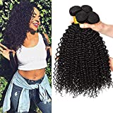Brazilian Curly Hair 3 Bundles Unprocessed Remy Brazilian Virgin curly hair extensions Human Hair Bundles double weft high quality brasilianische echte haare 10 12 14 inch