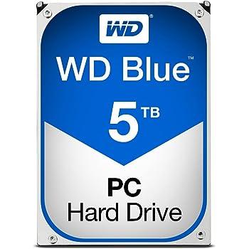 WD Blue 5TB Internal Hard Drive (WD50EZRZ)