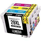 4 LEMERO 29XL 29 XL T2991-4 XL Druckerpatronen Kompatibel für Epson Expression Home XP-235 XP-240 XP-245 XP-247 XP-330 XP-332 XP-335 XP-340 XP-342 XP-345 XP-430 XP-432 XP-435 XP-440 XP-442 XP-445