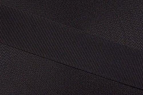 NTS-N/ähtechnik 25m Gurtband aus 100/% Polypropylen schwarz, 40