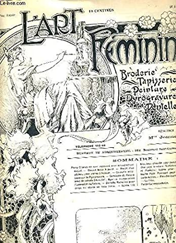 L'ART FEMININ - N° 4 - 26 JANV. 1902 -