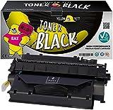 Yellow Yeti CF280X 80X (6.900 Seiten) Premium Toner kompatibel für HP Laserjet Pro 400 MFP M425dn MFP M425dw M401dn M401dw M401n M401a M401d M401dne [3 Jahre Garantie]