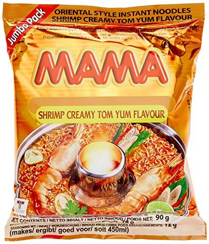 Mama Instant Nudeln Garnelen Rahm 90 g, 20er Pack (20 x 90 g)