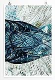 Maritime Creature - modernes abstraktes Bild Sinus Art - Bilder, Poster und Kunstdrucke